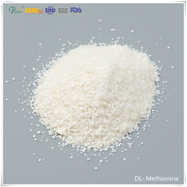 White or Light yellow DL-Methionine feed grade